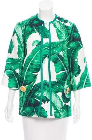 Dolce & Gabbana 2016 Banana Leaf Jacket