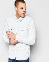 Nudie Jeans Regular Fit Jonis Denim Shirt