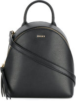 Donna Karan cross Saffiano mini backpack
