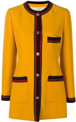 Gucci Web Detail Jacket