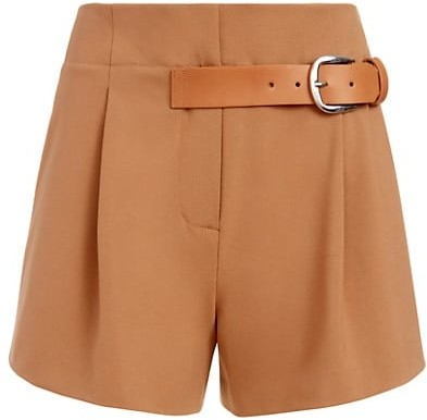 Alice + Olivia Adelina Tag Belt Shorts