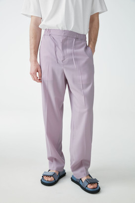 Cos Wide-Leg Wool Trousers