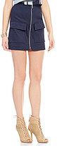J.o.a. Cargo Zip Front Skirt