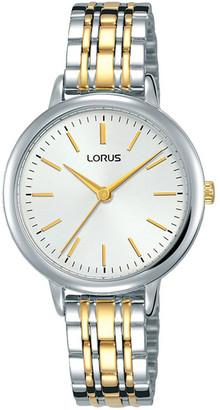 Lorus Ladies Two Tone Dress Watch RG295PX-9