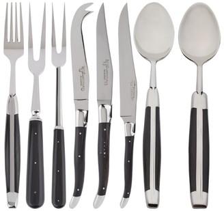 Laguiole Ebony 28-Piece Cutlery Set