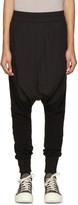 Niløs Black Knit-Leg Lounge Pants