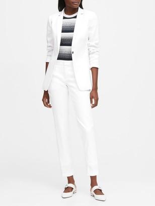 Banana Republic Long & Lean-Fit Linen-Cotton Blazer