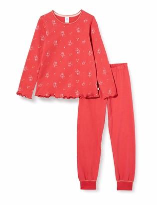 Sanetta Girl's Schlafanzug Kirsche Pajama Set