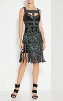 Herve Leger Joseline Ruched Detail Dress