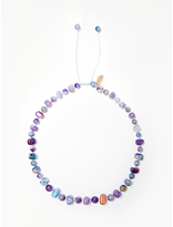 Lola Rose Mobi Necklace, Purple Agate