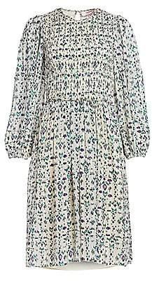 Etoile Isabel Marant Women's Eulie Print Smocked Dress