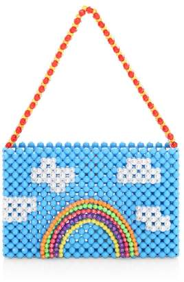 Susan Alexandra Summer Beaded Shoulder Bag