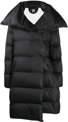 Bacon Oversized Tie-Waist Puffer Coat