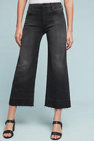 Mother Roller High-Rise Cropped Jeans