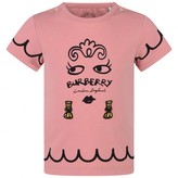 Burberry BurberryBaby Girls Pink Cotton Fiona Top