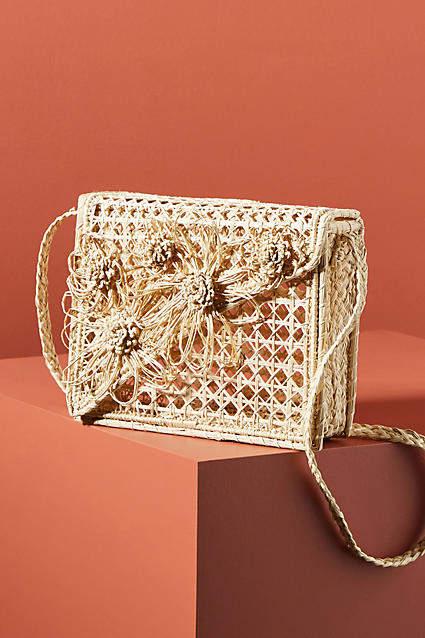 Kaanas Bolivar Floarl Box Crossbody Bag