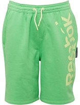 Reebok Boys Essential French Terry Shorts Bright Green