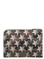 Valentino Military Green/sand Camustars Document Case