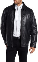 Rogue Spread Collar Leather Jacket