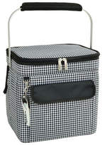 Picnic at Ascot Houndstooth Multi Purpose 24 Can Cooler