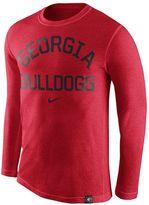 Nike Men's Georgia Bulldogs Tri-Blend Tee