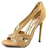 Two Lips Pyramid Women Open Toe Canvas Sandals.