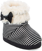 Black & Silver Stripe Boot