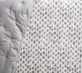 Pottery Barn Kids west elm x pbk Organic Stamped Owl Crib Fitted Sheet