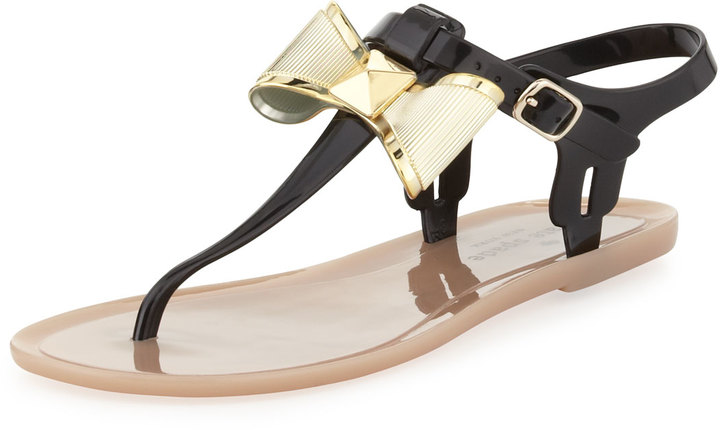 Kate Spade Fab Bow Jelly Thong Sandal