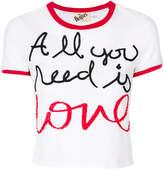Alice + Olivia Alice+Olivia All You Need Is Love T-shirt