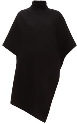 Chloé Roll-neck Cashmere Poncho - Womens - Black