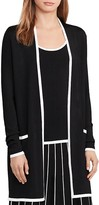 Lauren Ralph Lauren Color Block Cardigan