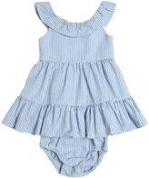 Ralph Lauren Seersucker Dress & Diaper Cover