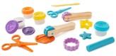 Melissa & Doug Kids' Cut, Sculpt & Stamp Clay Play Set