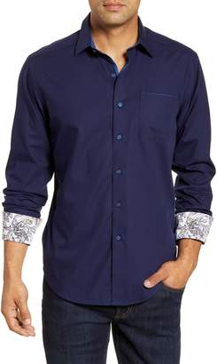 Robert Graham Mansfield Regular Fit Button-Up Sport Shirt