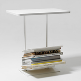 Design House Stockholm Magazine Table - White