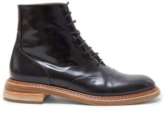 Gabriela Hearst Robin Leather Ankle Boots - Womens - Black