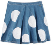 GUESS Sequin Dot Denim Skirt, Big Girls (7-16)