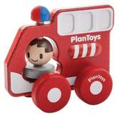 Plan Toys Fire Truck Push Toy