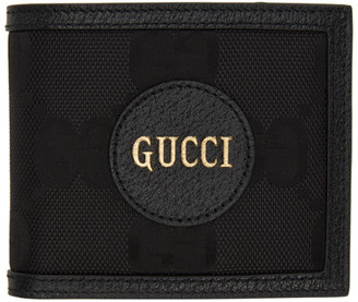 Gucci Black Off The Grid GG Bifold Wallet