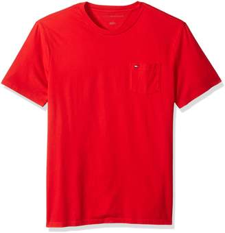 Tommy Hilfiger Men's Crew Neck T-Shirt with Beach Pocket