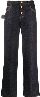 Bottega Veneta Straight Loose Fit Jeans