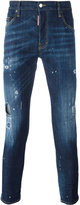 DSQUARED2 Skater paint splatter jeans - men - Cotton/Spandex/Elastane - 42