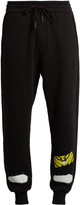 Off-White Spray-paint print cotton-jersey track pants