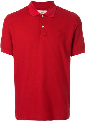 Kent & Curwen embroidered logo polo shirt