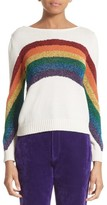 Marc Jacobs Women's Rainbow Cotton Blend Sweater