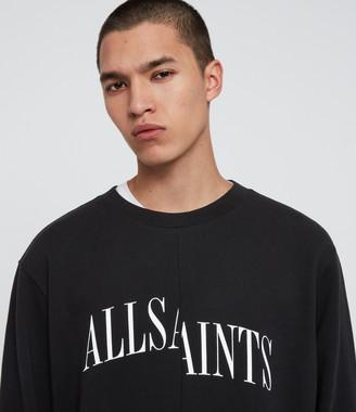 AllSaints Dropout Crew Sweatshirt