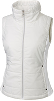 Cutter & Buck White WeatherTec Claudia Quilted Vest