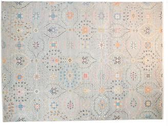 F.J. Kashanian 8'x10' Sari Wool Grant Rug - Pale Aqua