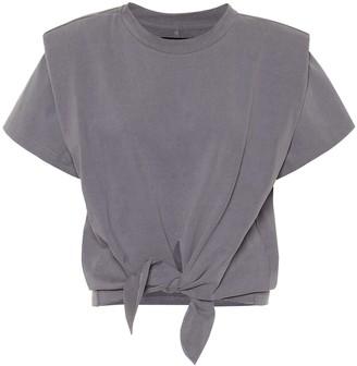 Isabel Marant Exclusive to Mytheresa Belita cotton-jersey crop top